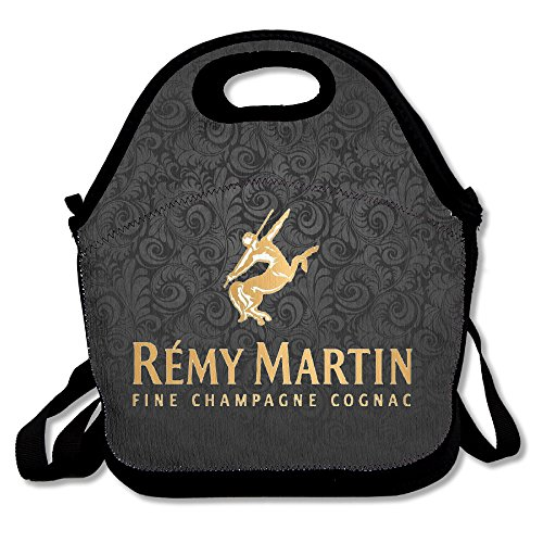 Remy Martin Champagne Cognac Insulated Lunch Bag/ Backpack / Tote With Zipper, Carry Handle And Shoulder Strap For Adults Or Kids