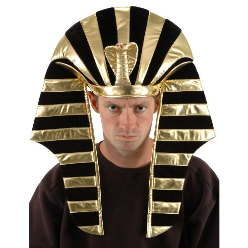 Egyptian Prince Costumes (King Tut Hat - Great Egyptian Costume Hat!!!)