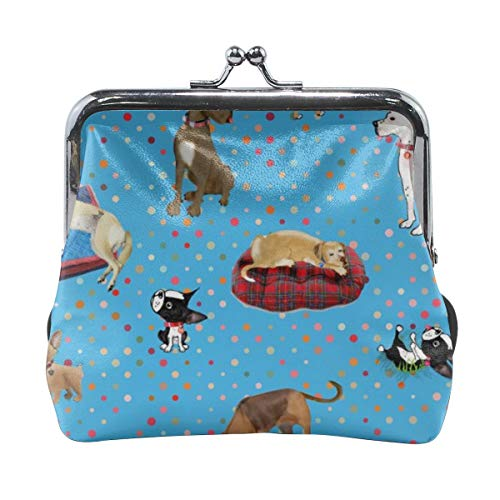 Lessons My Dogs Taught Me Cute Buckle Leather Little Coin Purse Wallet