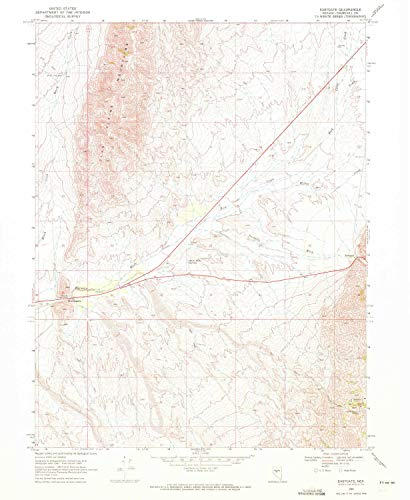 (YellowMaps Eastgate NV topo map, 1:24000 Scale, 7.5 X 7.5 Minute, Historical, 1969, Updated 1972, 26.7 x 21.9 in -)
