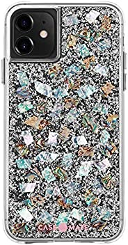 Case-Mate - iPhone 11 Case - Karat - Real Mother of Pearl & Silver Elements- 6.1 - Mother of P