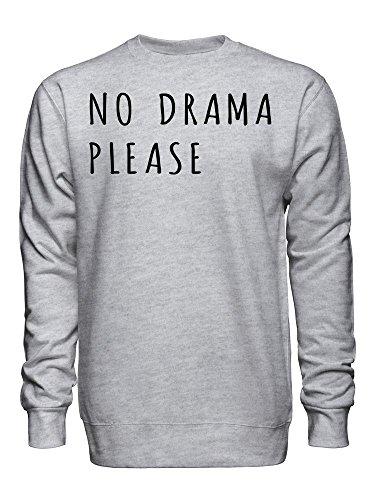 No Drama Please Unisex Crew Neck Sweatshirt