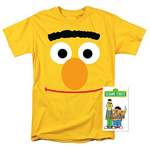 Sesame Street Bert Face T Shirst (Large) -