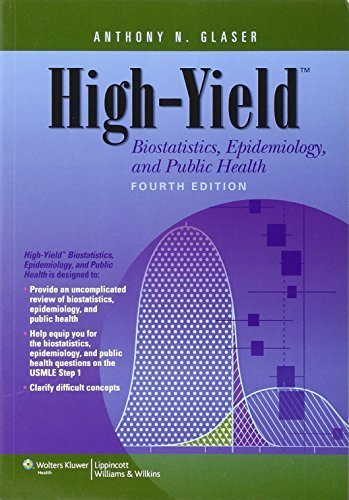 High-Yield Biostatistics, Epidemiology, and Public Health (High-Yield Series) Fourth edition by Glaser MD Ph.D, Anthony N. (2013) Paperback