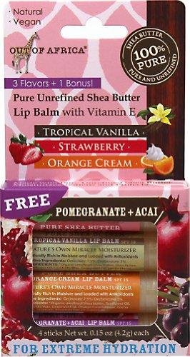 Pure Shea Butter Lip Balm - 6
