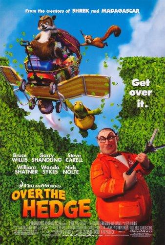 Over the Hedge Movie Poster (27 x 40 Inches - 69cm x 102cm) (2006) Style C -(Bruce Willis)(Garry Shandling)(Steve Carell)(Shane Baumel)(Thomas Haden Church)