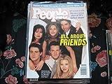 People Weekly Magazine - 17 April 1995 -  All About Friends  - David Schwimmer, Lisa Kudrow, Matthew Perry, MattLeBlanc, Courteney Cox, and Jennifer Aniston