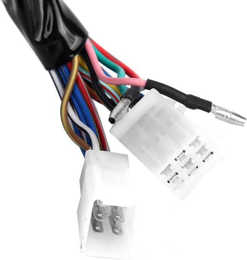 Gorgeri DC 12V Universal Motorcycle LCD Digital Display Speedometer Odometer Electronic Adjustable Tachometer