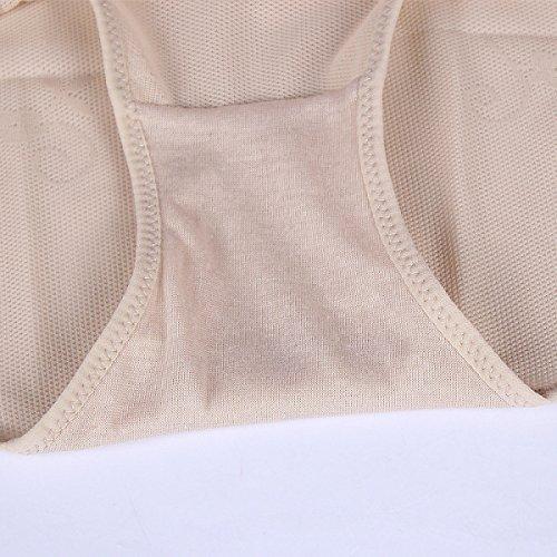 Mujer Alta Cintura Abdomen Cómodo Suave Salud Levante Las Caderas Después Del Parto Bragas 2 Pack Black
