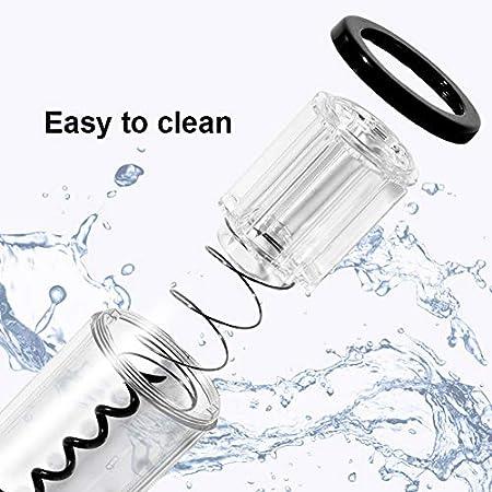 Apofly Botella de Vino Sacacorchos eléctrico de Apertura automática Conjunto Pilas Contiene lámina cortadora para fechar a Partido y Amante del Vino (no incluir la batería)
