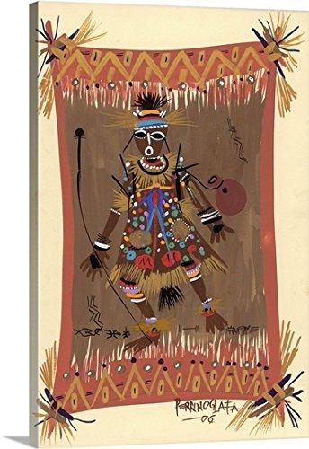Oglafa Ebitari Perrin Premium Thick-Wrap Canvas Wall Art Print entitled Messengers of Ashe 1, (Divine Messenger Costume)