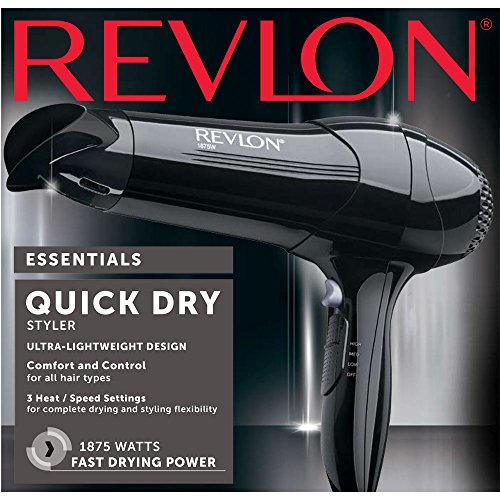 Revlon 1875W Quick Dry Lightweight Hair Dryer