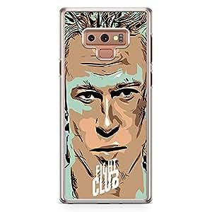 Loud Universe Designer Bradd Pitt Samsung Note 9 Case with Transparent Edges Fight Club Phone Case