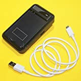 (Combo Pack) LG G Stylo LS770 H631 (Boost Mobile, Cricket, Metro PCS, Sprint, T-Mobile) Multi Function Desktop Wall USB AC BL-51YF Battery Charger + USB to MicroUSB Data/Charging Cable 3 Feet -  ReelWonder
