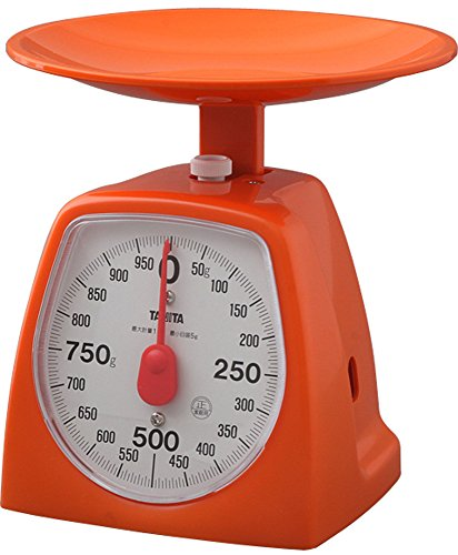 TANITA 아날로그 쿠킹 스케일 5g~1kg / 10g~2kg  1439-1OR 오렌지 / 그린 / 핑크 / 화이트
