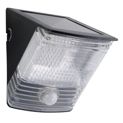 All-Pro MSLED100, 100 Degree LED Motion-activated Solar Light, Black by All Pro Outdoor Security by All Pro Outdoor Security