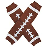 football baby leg warmers - Super Sports Star - Leg Warmers - One Size - Baby, Toddler, Boy, Girl (Touchdown Football)