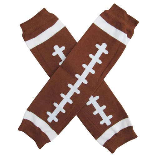 - Super Sports Star - Leg Warmers - One Size - Baby, Toddler, Boy, Girl (Touchdown Football)