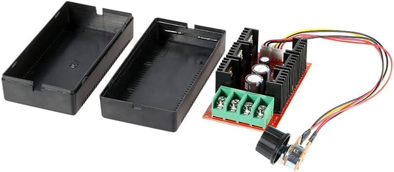 KKmoon 10-50V / 40A / 2000W DC Controlador de velocidad del motor ...