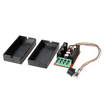 KKmoon 10-50V / 40A / 2000W DC Controlador de velocidad del motor PWM HHO RC Controlador 12V 24V 36V 40V 50V Controlador de velocidad: Amazon.es: Bricolaje ...