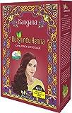 Best Henna Hair Dyes - Kangana Burgundy Henna Powder for 100% Grey Coverage Review