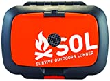 S.O.L Survive Outdoors Longer Origin, Multi-Function Ultimate Survival Tool, Waterproof & Lightweight Case, Compact Outdoor Emergency Gear Kit, Buck Tilton Lifesaving Tips & Techniques, 6.25oz