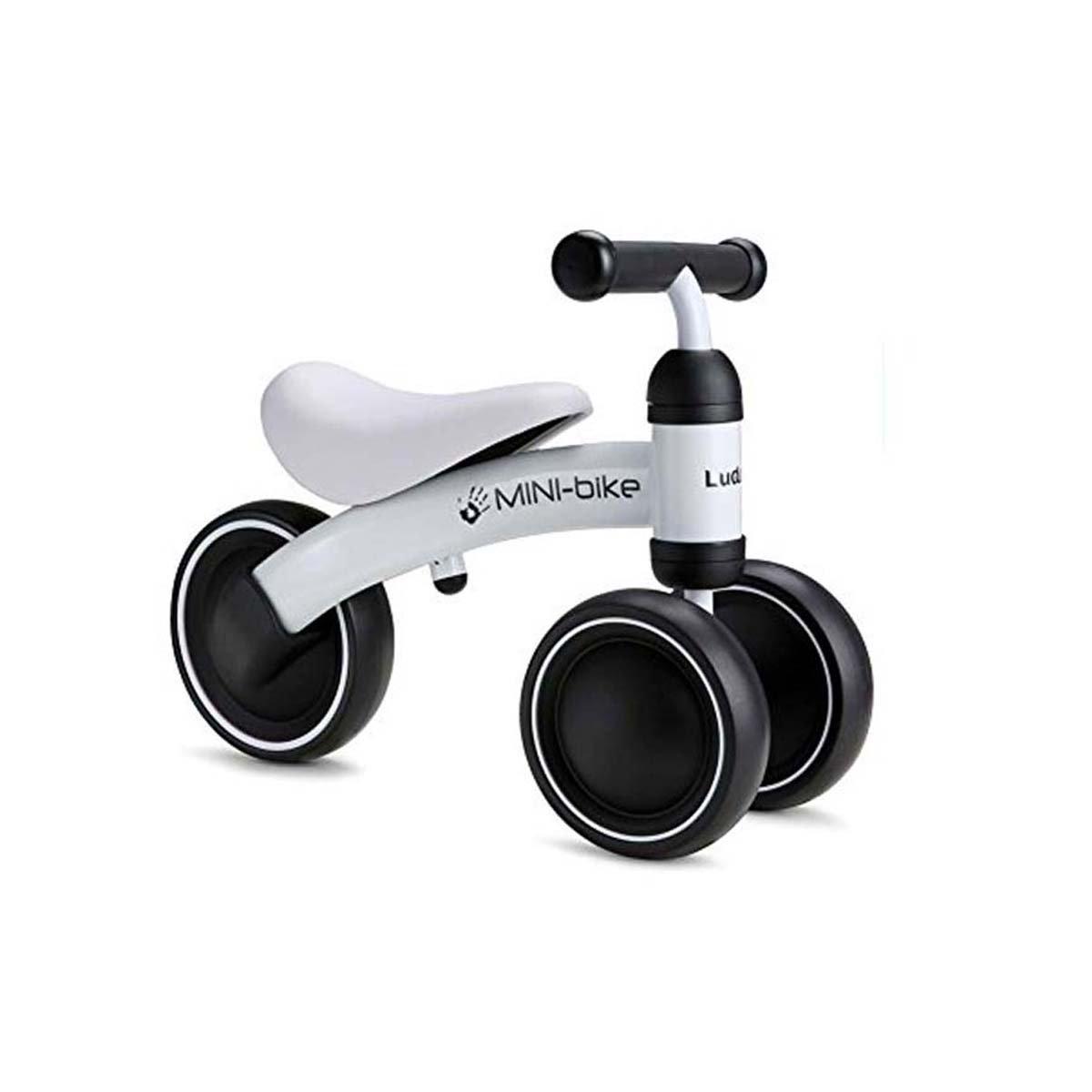 Baby Shining Balance Bike,Baby Ride Toy Learn to Walk,12-24 Month No-Pedal Balance Bike to Kids