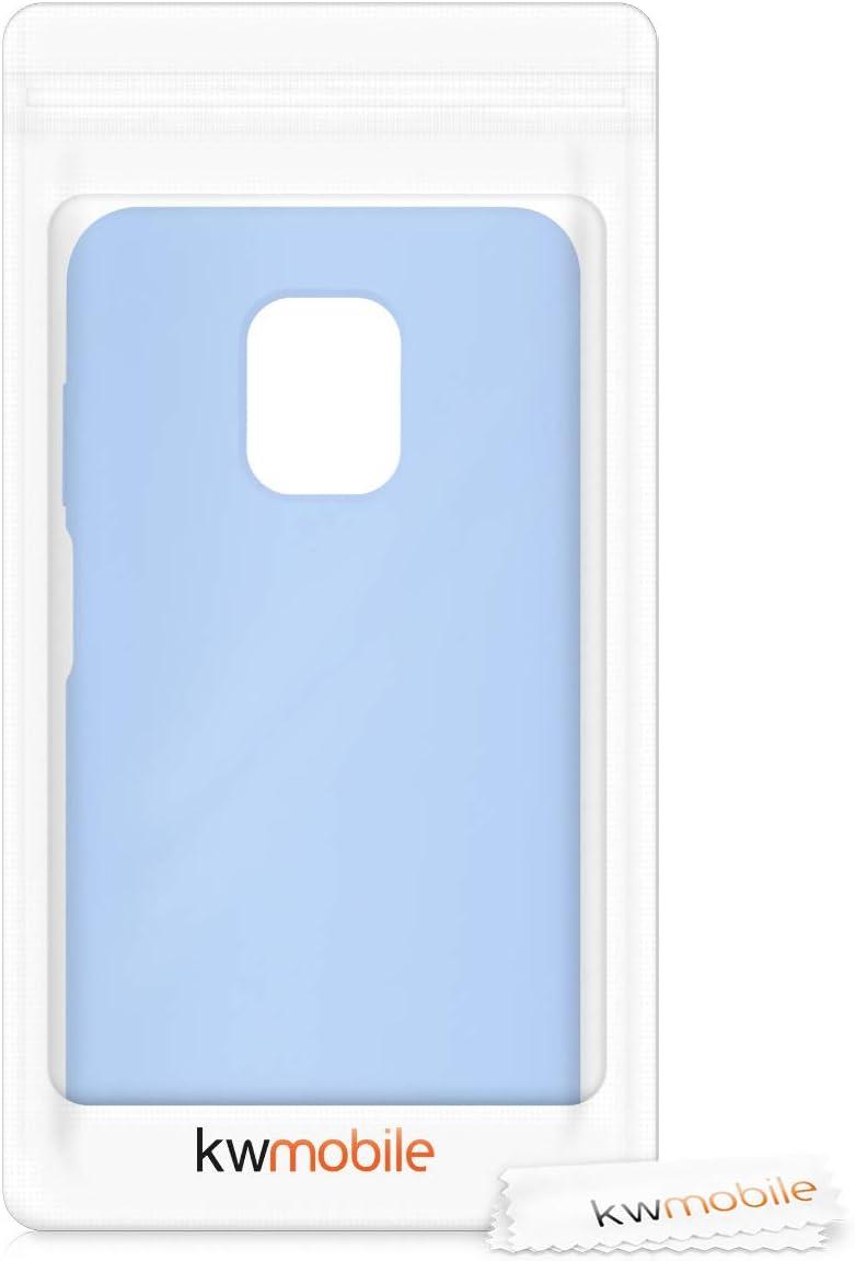 Cover Trasero en Azul Claro Mate Carcasa de TPU para m/óvil 9 Pro MAX 9 Pro kwmobile Funda Compatible con Xiaomi Redmi Note 9S