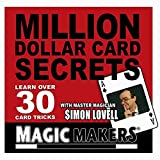 Million Dollar Card Secrets By Magic Makers