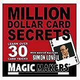 Magic Makers - Million Dollar Card Secrets - Over 30 Impressive Card Tricks