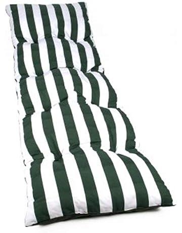 Colchón Tumbona Acolchada Classic 180x55X5 Texturas (Verde)