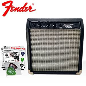 Fender 3G-55S5-IWUP 1 NEW Acoustic and Electric Guitar Amplifier - Fender Starcaster - 15-watt Portable Practice AMP