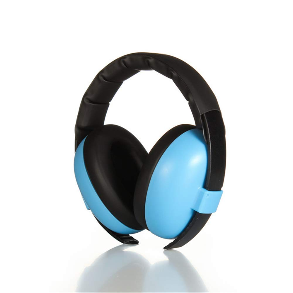 XUROM-Tools & Home Improvement Soundproof Earmuffs Safe Ear Protection Noise Reduction Earmuffs Adjustable Headband with Child and Adult Noise Canceling Headphones Fits Adults to Kids by XUROM-Tools & Home Improvement