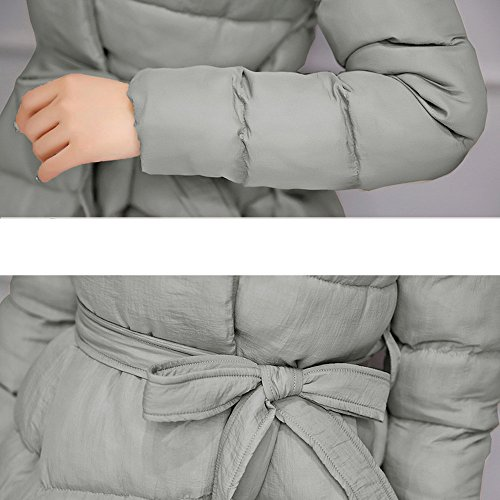 Warm Coat Winter Cotton Jacket OYSOHE Parka Long Belt Womens Gray Clearance Fashion Thicker Outwear w4xY1xqn8t