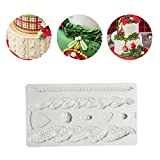 C-Pioneer 3D Hemp Rope Silicone Fondant Cake Mold Craft Chocolate Mould DIY Baking Sugar Tool