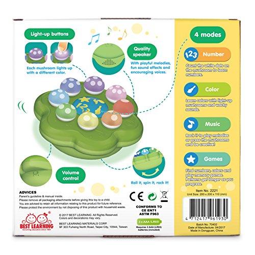 BEST LEARNING Mushroom Garden - Educational Toy for Toddlers Kids
