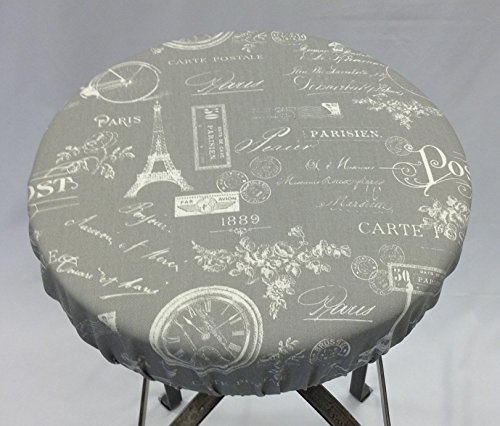 French barstool cover 12