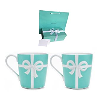 wholesale dealer 9ada8 08743 Amazon.co.jp : ティファニー マグカップ ブルーボックス 2個 箱 ...