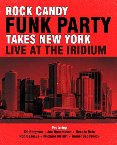 Rock Candy Funk Party Takes New York: Live at the [Blu-ray] -