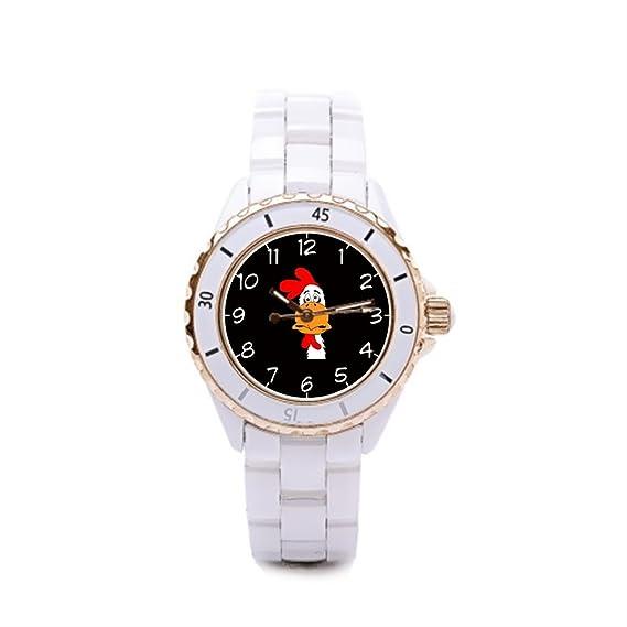 Queensland relojes Marcas reloj de cerámica de personajes de dibujos animados, animales: Amazon.es: Relojes