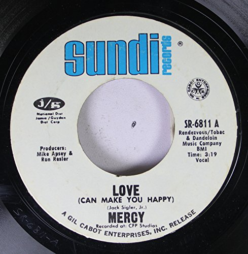 Nercy 45 RPM Love / Fire Ball