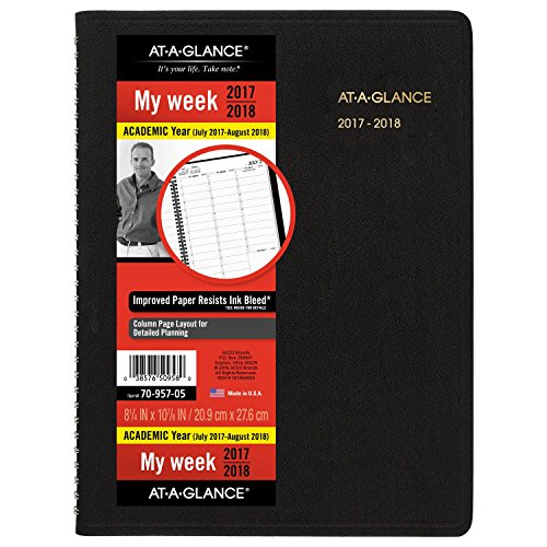 GLANCE Academic Appointment Weekly Planner