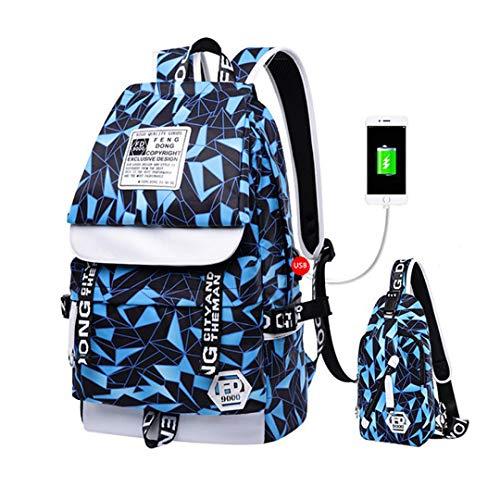 Backpack 3 Bag 2pcs School Boys C2 Set Boys Bag Pencil Pencil Bag RqORfx4