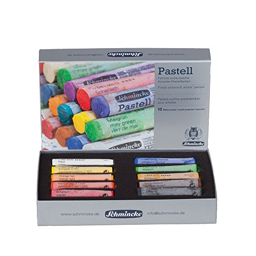 - SCHMINCKE Pastels, Starter Set 10 Full Stick (77010065)