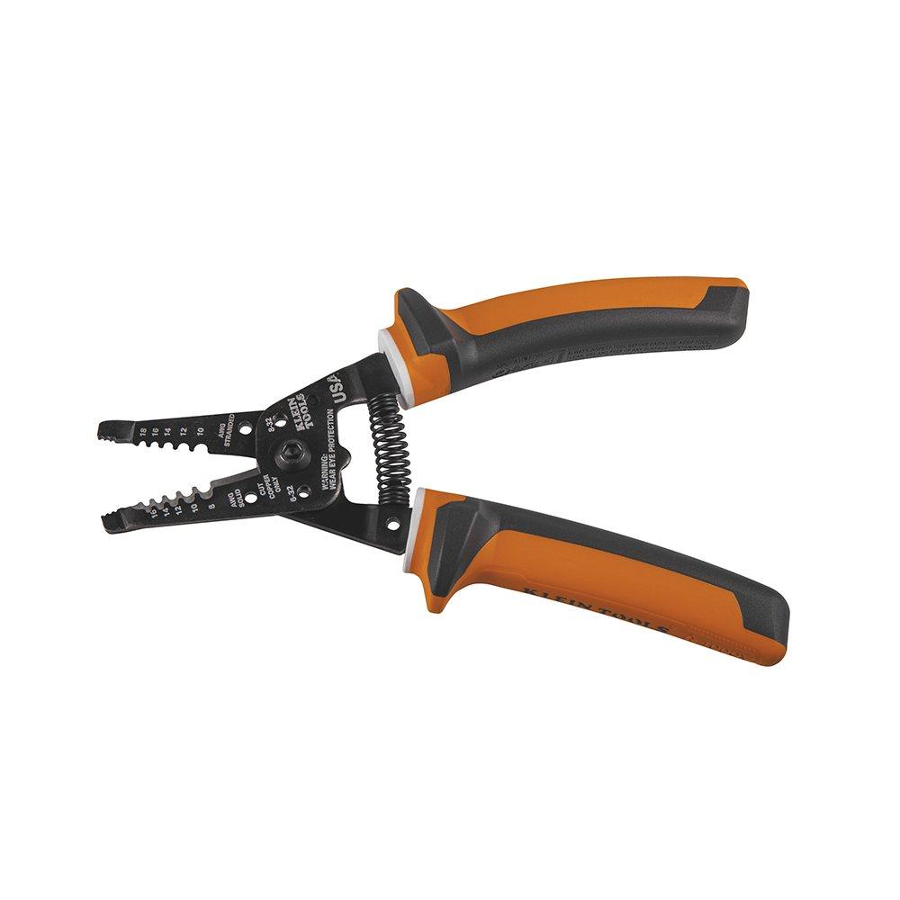Electrician's Insulated Wire Stripper/Cutter Klein Tools 11054-EINS