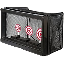 BBTac Airsoft Target with Auto-Reset, Stand, Trap Net Catcher, for Airsoft Gun Shooting BB Pellets Indoor Outdoor