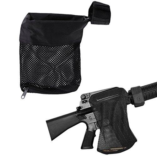 Brass Catcher (Fyland Brass Catcher, Cartridge Shell Catcher for AR-15 Nylon Mesh Black)