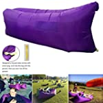 Henscoqi Outdoor Inflating Lounger Ai...