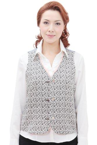 法律により卒業近所の着物 ベスト 京 アロハ 小紋 ハイビス花柄 K105 sakura de kyoto 京さくら