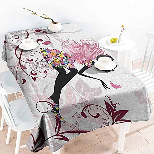 familytaste Princess,Wholesale tablecloths Flower Fairy with Butterflies Wings